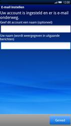 Sony Ericsson Xperia X10 - E-mail - Handmatig instellen - Stap 12