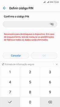 Huawei Mate 10 - Segurança - Como ativar o código de bloqueio do ecrã -  9