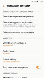 Samsung Galaxy S6 - Android Nougat - Contacten en data - Contacten kopiëren van toestel naar SIM - Stap 6