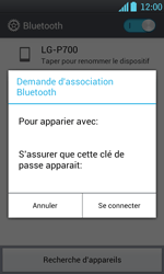 LG P700 Optimus L7 - Bluetooth - connexion Bluetooth - Étape 10