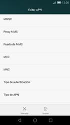 Huawei Ascend G7 - Mensajería - Configurar el equipo para mensajes multimedia - Paso 11
