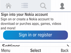 Nokia Asha 210 - Applications - Downloading applications - Step 8