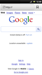 Sony Ericsson Xperia Arc - Internet - Internet browsing - Step 4