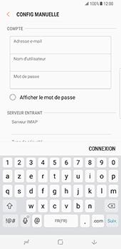 Samsung Galaxy S8 Plus - E-mail - Configuration manuelle - Étape 10