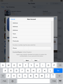 Apple iPad mini iOS 7 - Applications - Downloading applications - Step 22