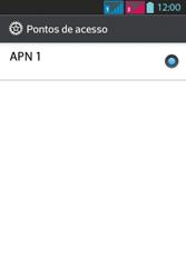 LG Optimus L5 Dual - Internet - Como configurar seu celular para navegar através de Vivo Internet - Etapa 10