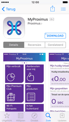 Apple iPhone 5c iOS 9 - Applicaties - MyProximus - Stap 7
