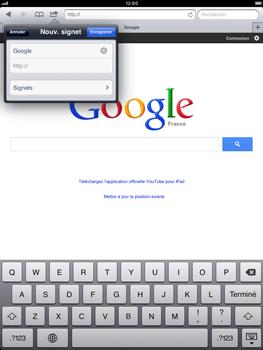 Apple iPad mini - Internet - Navigation sur Internet - Étape 6
