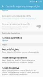 Samsung Galaxy S7 - Repor definições - Como repor definições de fábrica do telemóvel -  7
