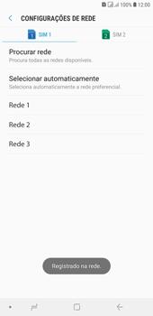 Samsung J4+ - Rede móvel - Como selecionar o tipo de rede adequada - Etapa 12