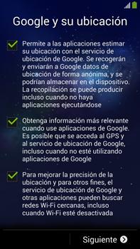 Samsung Galaxy Note 3 - Primeros pasos - Activar el equipo - Paso 11