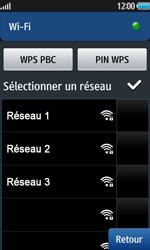 Samsung Wave 2 - Internet et connexion - Accéder au réseau Wi-Fi - Étape 7