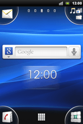 Sony Xperia Mini Pro - Voicemail - Handmatig instellen - Stap 1