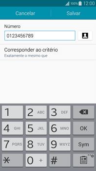 Samsung N910F Galaxy Note 4 - Chamadas - Como bloquear chamadas de um número específico - Etapa 14
