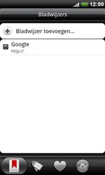 HTC S510e Desire S - Internet - hoe te internetten - Stap 8