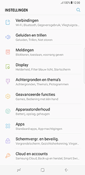 Samsung Galaxy S8 Plus (G955) - Bluetooth - Aanzetten - Stap 3