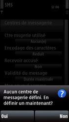 Nokia 5800 Xpress Music - SMS - configuration manuelle - Étape 7