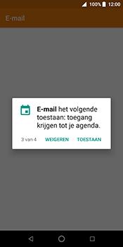 ZTE Blade V9 - E-mail - Handmatig instellen (outlook) - Stap 6