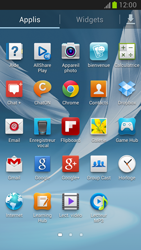 Samsung Galaxy Note 2 - Contact, Appels, SMS/MMS - Ajouter un contact - Étape 3