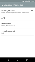 HTC One A9 - Red - Seleccionar el tipo de red - Paso 5