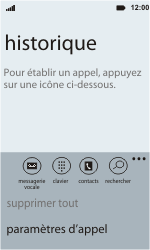 HTC C110e Radar - Messagerie vocale - configuration manuelle - Étape 6