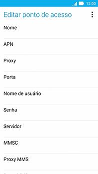 Asus Zenfone Go - Internet (APN) - Como configurar a internet do seu aparelho (APN Nextel) - Etapa 9