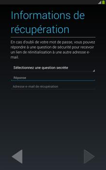 Samsung Galaxy Tab 3 8 4G - Premiers pas - Créer un compte - Étape 17