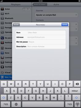 Apple iPad mini - E-mail - Configuration manuelle - Étape 9
