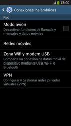 Samsung Galaxy S4 Mini - Internet - Activar o desactivar la conexión de datos - Paso 5