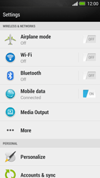 HTC One - Internet - Disable data roaming - Step 4