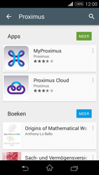 Sony D2203 Xperia E3 - Applicaties - MyProximus - Stap 7