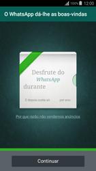 Samsung Galaxy Grand Prime - Aplicações - Como configurar o WhatsApp -  10