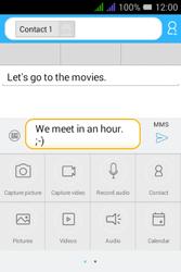 Alcatel Pixi 3 - 3.5 - MMS - Sending a picture message - Step 13