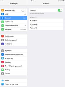 Apple iPad Pro 9.7 inch (Model A1674) - Bluetooth - Aanzetten - Stap 4