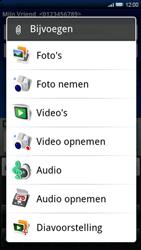 Sony Ericsson Xperia X10 - MMS - hoe te versturen - Stap 10