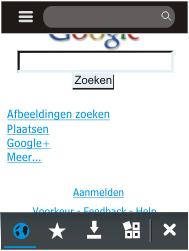 Nokia Asha 203 - Internet - Hoe te internetten - Stap 12