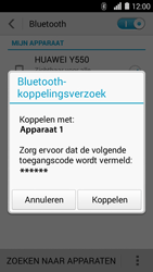 Huawei Ascend Y550 - Bluetooth - Koppelen met ander apparaat - Stap 6