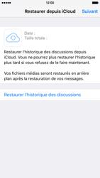 Apple iPhone 6 iOS 9 - WhatsApp - Restaurer les discussions WhatsApp - Étape 11