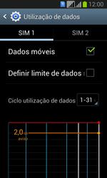 Samsung Galaxy Fresh Duos - Internet no telemóvel - Como ativar os dados móveis -  6