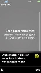 Sony Ericsson U1i Satio - Internet - Handmatig instellen - Stap 8
