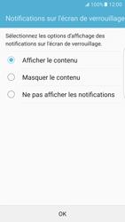 Samsung Galaxy S7 Edge - Sécuriser votre mobile - Activer le code de verrouillage - Étape 11