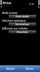 Nokia C7-00 - Réseau - utilisation à l'étranger - Étape 9