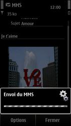 Nokia 500 - MMS - envoi d'images - Étape 12