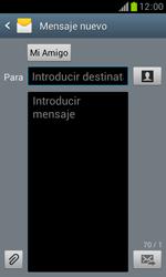 Samsung S7560 Galaxy Trend - Mensajería - Escribir y enviar un mensaje multimedia - Paso 9