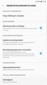 Samsung Galaxy S6 edge+ (SM-G928F) - Beveiliging en ouderlijk toezicht - Hoe wijzig ik mijn SIM PIN-code - Stap 6