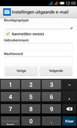Alcatel OT-4033X Pop C3 - E-mail - e-mail instellen: POP3 - Stap 18