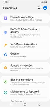 Samsung Galaxy A40 - Sécurité - modifier SIM PIN - Étape 4