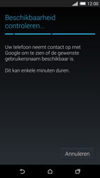 HTC One M8 - Applicaties - Account aanmaken - Stap 9