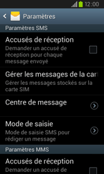 Samsung I9105P Galaxy S II Plus - SMS - configuration manuelle - Étape 6