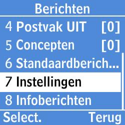 Samsung GT-E1200i - Voicemail - Handmatig instellen - Stap 4